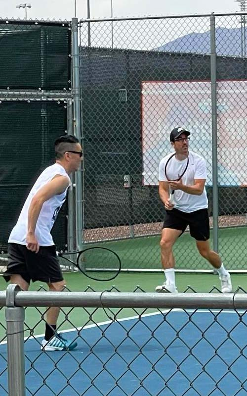 Group Tennis Lessons Basha Forest Crest