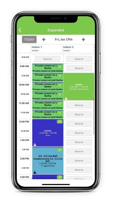 Basha Tennis Mobile App Picture