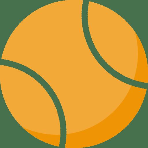 Orange Tennis Ball