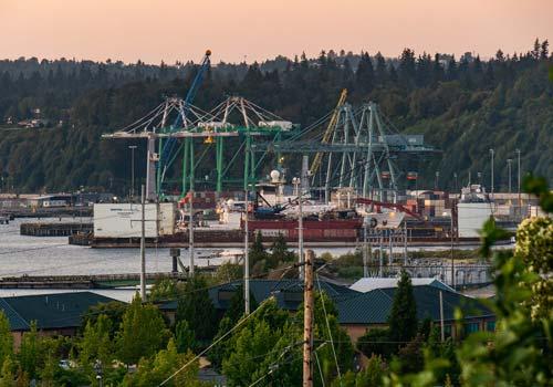 Everett, Washington Port
