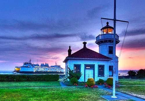 Lighthouse in Mukilteo WA